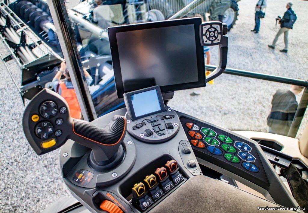 ремонт панелей приборов и мониторов тракторов John Deere